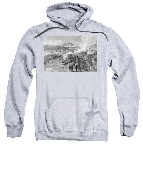 The Battle Of Resaca, Georgia, May 14th 1864, Illustration From Battles And Leaders Of The Civil Sweatshirt