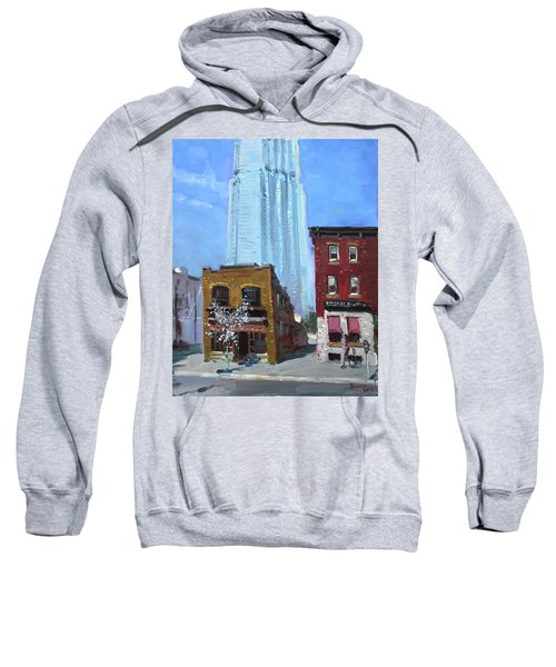 The Beauty N' The Background In London Canada Sweatshirt