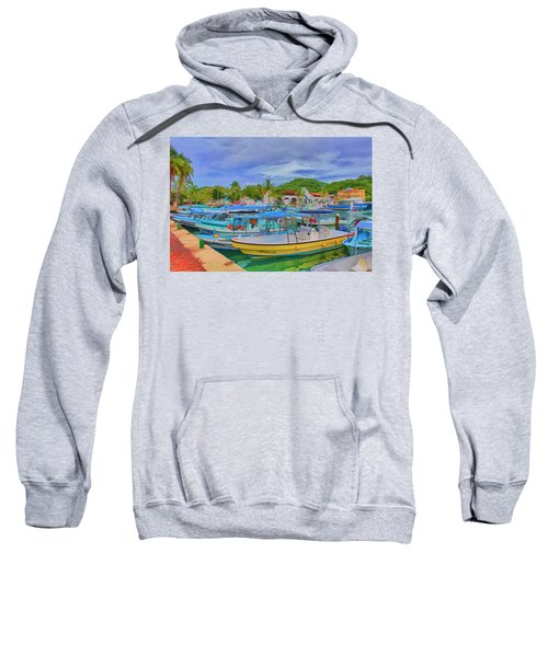 The Boats Of Hautulco Sweatshirt