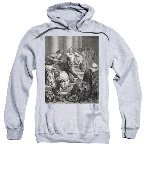 The Buyers And Sellers Driven Out Of The Temple Sweatshirt