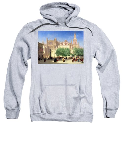 The Cathedral Of Seville Sweatshirt