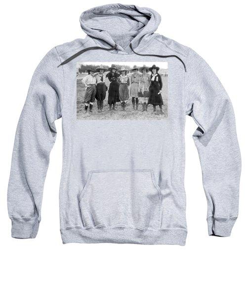 The Cheyenne Rodeo Roundup Cowgirls Sweatshirt