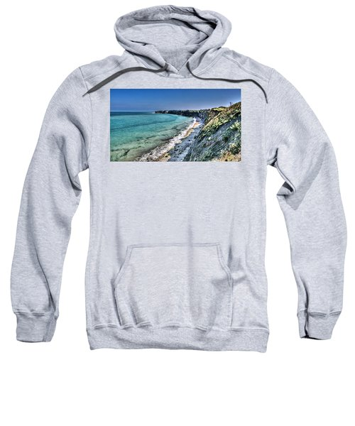 The Cliffs Of Pointe Du Hoc Sweatshirt
