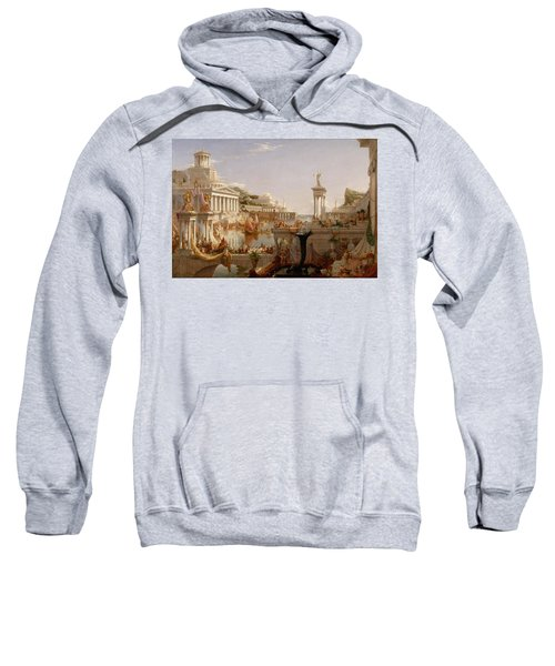 The Course Of Empire Consummation  Sweatshirt