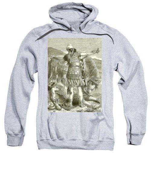 The Crucifixion Sweatshirt
