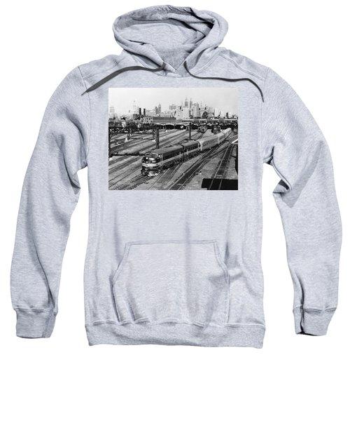 The Crusader Streamliner Train Sweatshirt