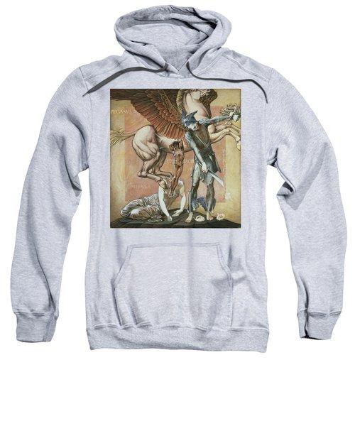 The Death Of Medusa I, C.1876 Sweatshirt