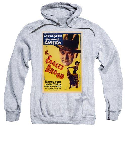 The Eagle's Brood Movie Poster 1935 Sweatshirt