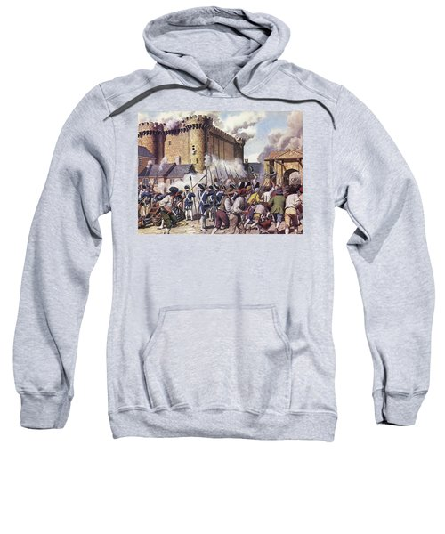The Fall Of The Bastille Colour Litho Sweatshirt