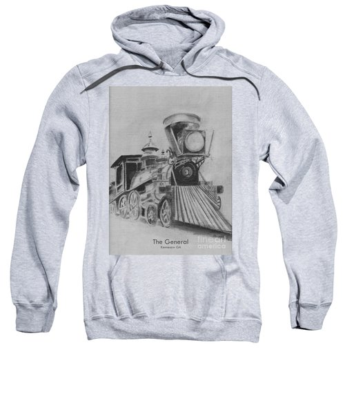 The General - Train - Big Shanty Kennesaw Ga Sweatshirt