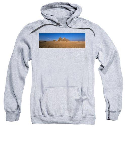 The Great Pyramids Giza Egypt Sweatshirt