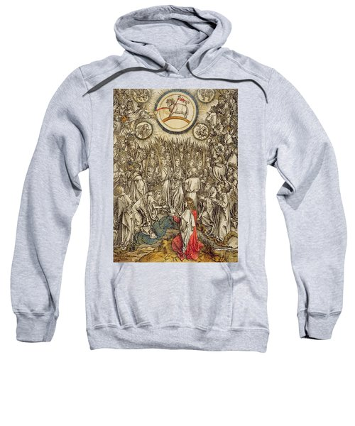 The Lamb Of God Appears On Mount Sion, 1498  Sweatshirt