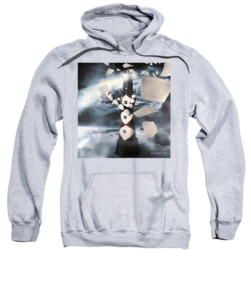 The Lighthouse And The Fishermans Tale Sweatshirt