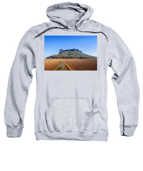 The Lilienstein On An Autumn Morning Sweatshirt