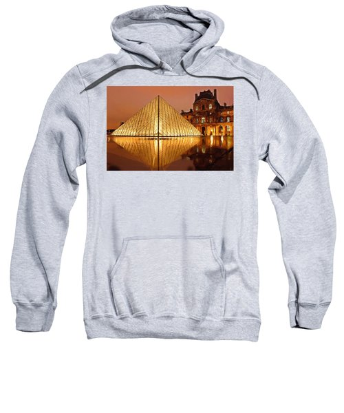 The Louvre By Night Sweatshirt