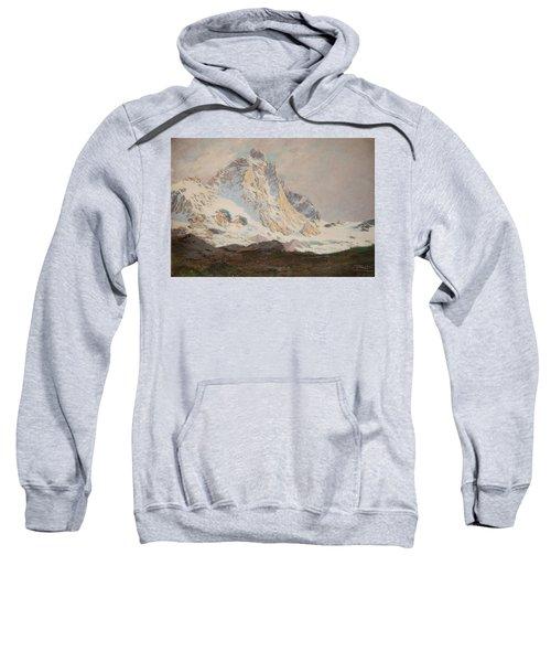 The Matterhorn, 1910 Sweatshirt