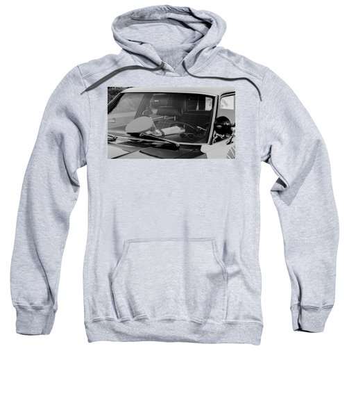 Sweatshirt featuring the photograph The Office On Wheels by Jim Thompson