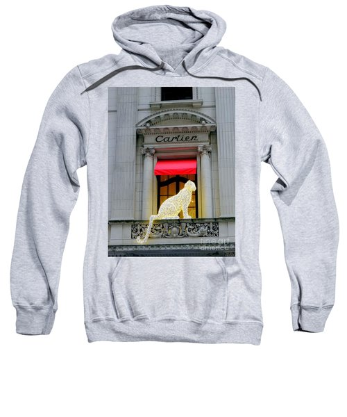 The Panther Of Cartier Sweatshirt