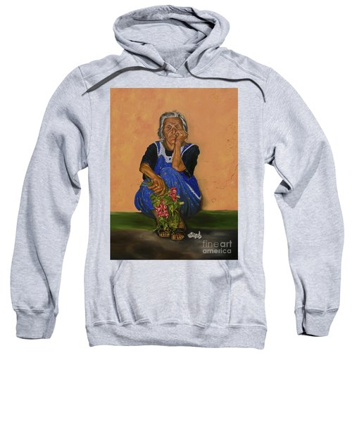 The Parga Flower Seller Sweatshirt