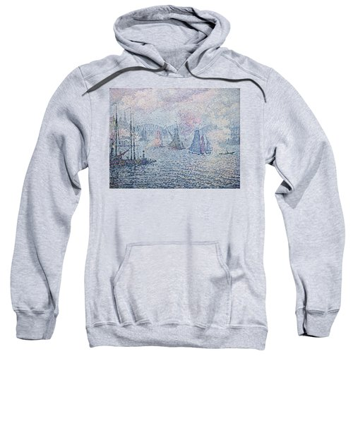 The Port Of Rotterdam, Or The Fumes Sweatshirt