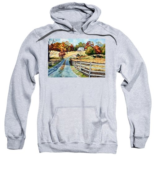 The Road To The Horse Farm Sweatshirt