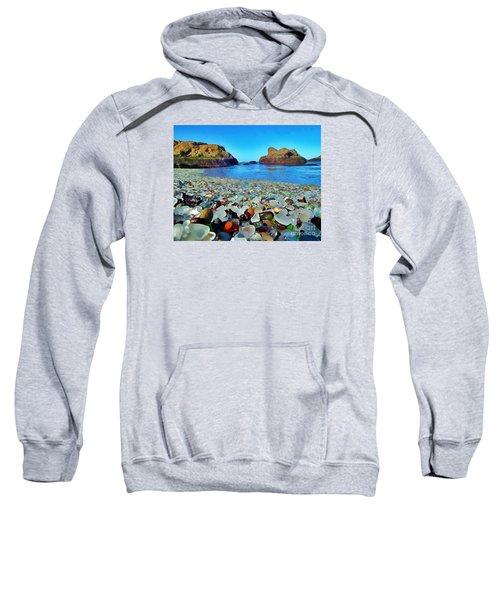 Glass Beach In Cali Sweatshirt