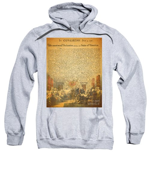 The Signing Of The United States Declaration Of Independence Sweatshirt
