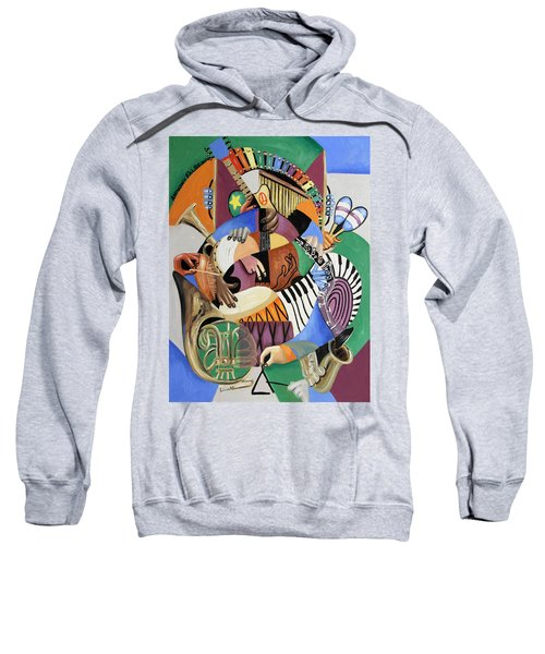 The Sounds Of Music By Anthony Falbo Sweatshirt