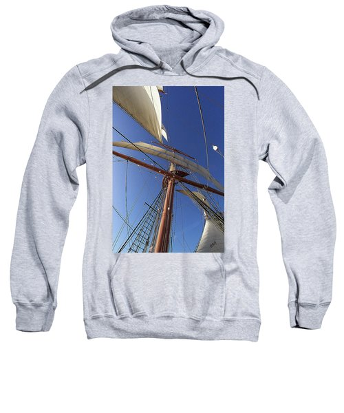The Star Of India. Mast And Sails Sweatshirt