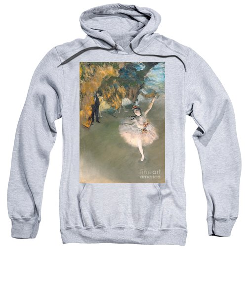 The Star Or Dancer On The Stage Sweatshirt