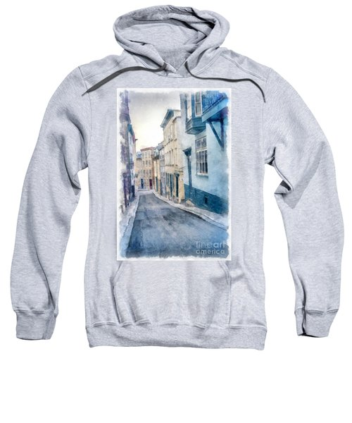 The Streets Of Old Quebec City Sweatshirt