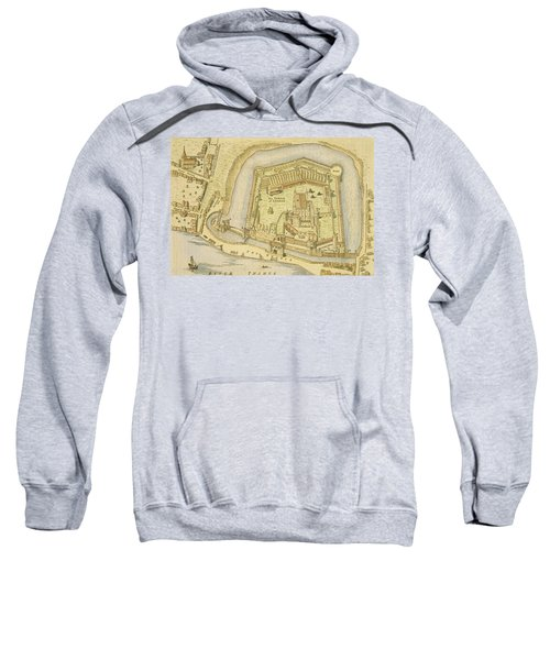 The Tower Of London, From A Survey Made Sweatshirt