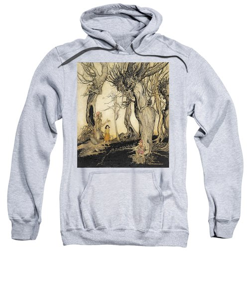 The Trees And The Axe, From Aesops Sweatshirt