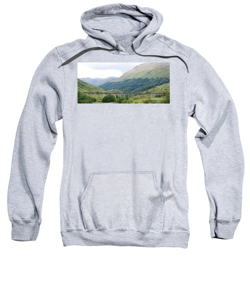 Sweatshirt featuring the photograph The Viaduct by Denise Railey