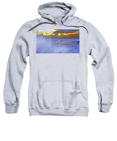 The Wave Which Got Me Sweatshirt by Miroslava Jurcik
