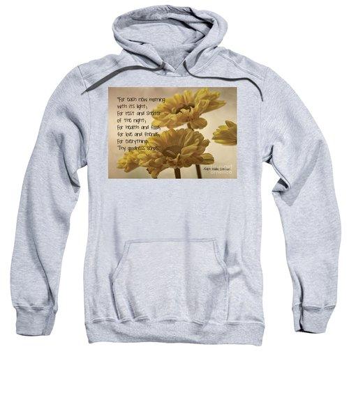 Thoughts Of Gratitude Sweatshirt