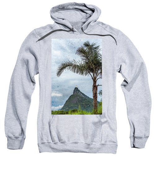 Thousands Of Flying Ants On Corcovado Sweatshirt