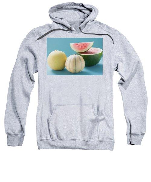 Three Different Melons Sweatshirt