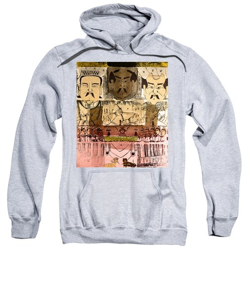 Three Gods, Founders Of Chinese Medicine Sweatshirt