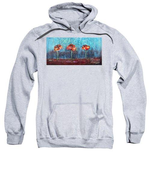 Three Poppies Sweatshirt