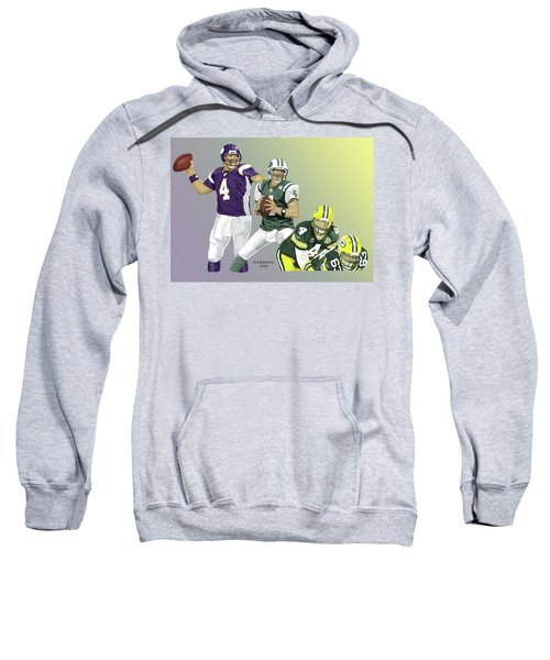 Three Stages Of Bret Favre Sweatshirt