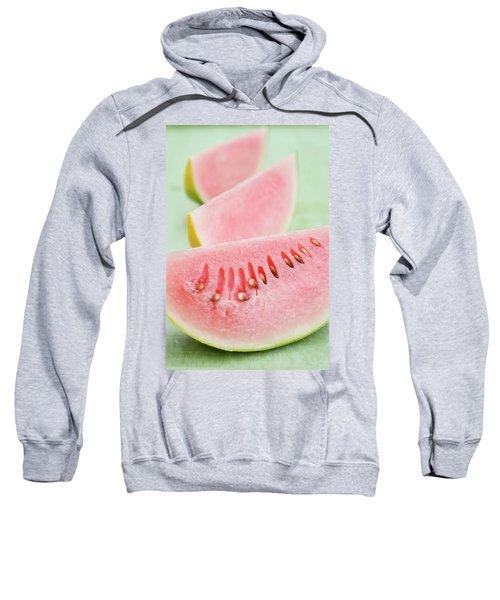 Three Wedges Of Watermelon Sweatshirt