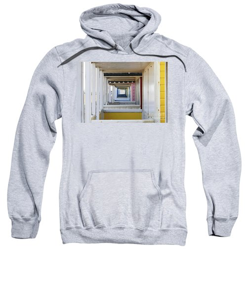 Through The Beach Huts Sweatshirt