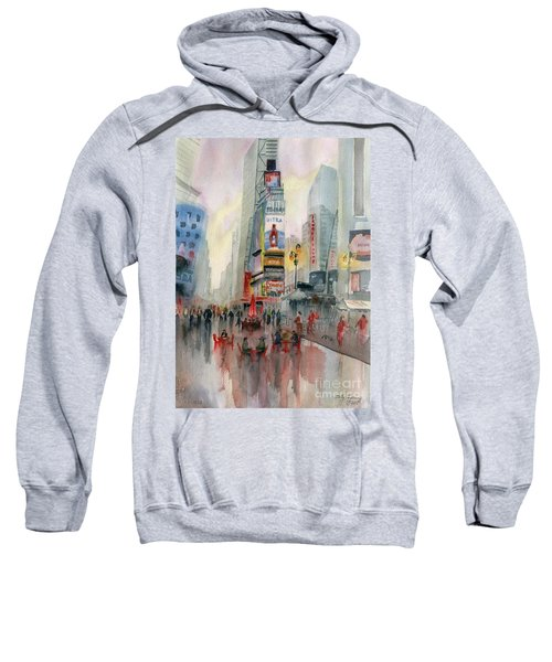 Time Square New York Sweatshirt