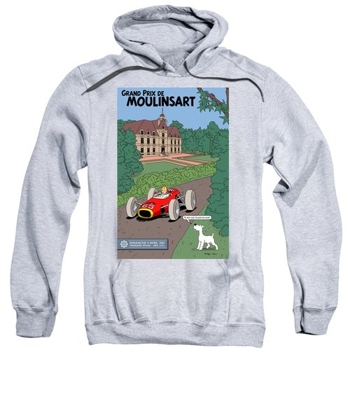 Tintin Grand Prix De Moulinsart 1965  Sweatshirt
