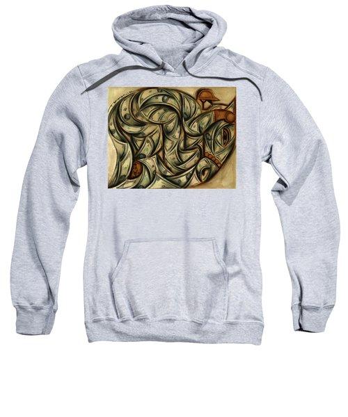 Tommervik Horse Racing Betting Art Print Sweatshirt