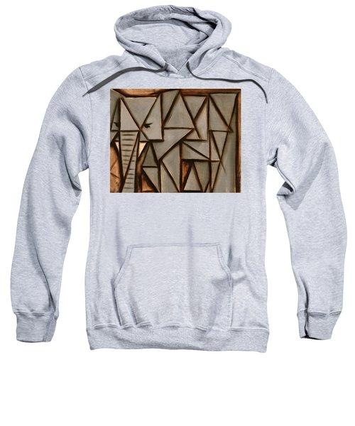 Tommervik Triangle Elephant Art Print Sweatshirt