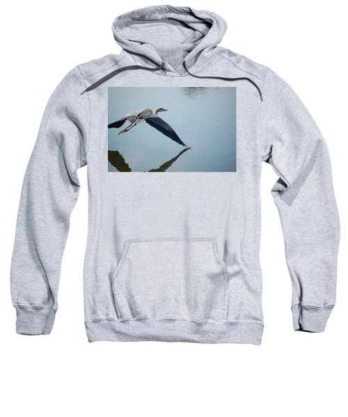 Touch The Water With A Wing Sweatshirt