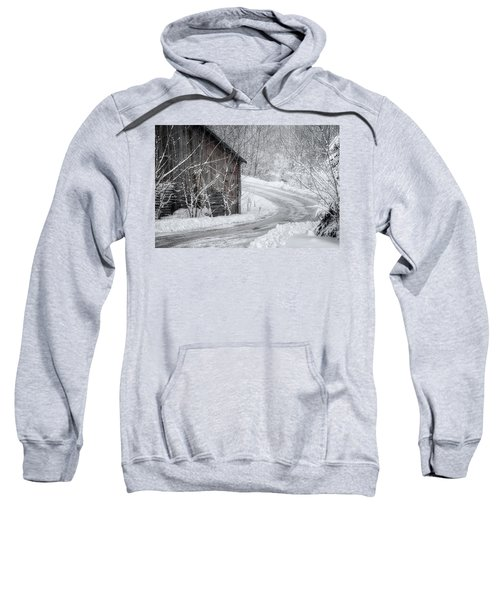 Touched By Snow Sweatshirt