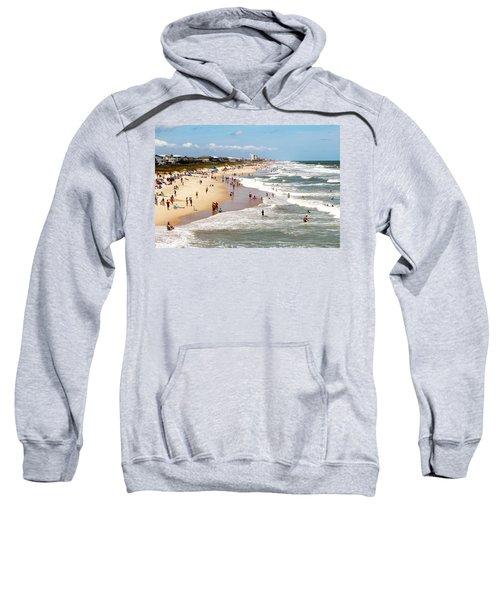 Tourist At Kure Beach Sweatshirt